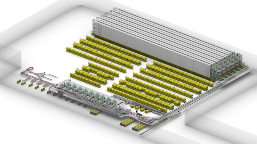 SSI Schäfer levererar automationslösning till PostNord/Stadium