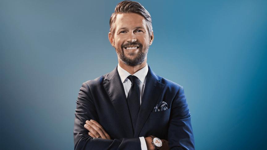 Hockeyprofilen Rickard Wallin är ny ambassadör för AjaBajaCancer