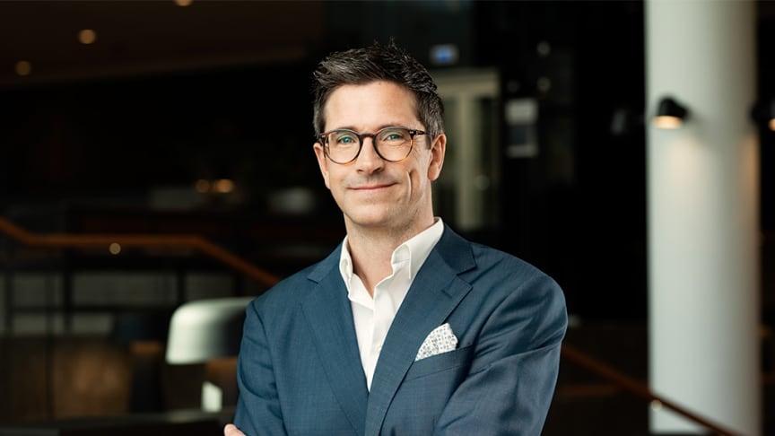 Ulf Cato, ny affärsområdeschef på Sabis Hotell & Möten