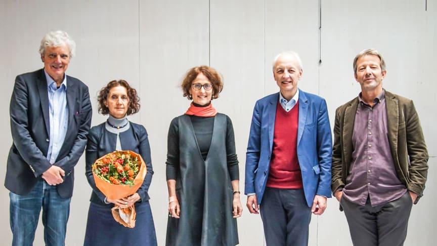 Vorstand am Goetheanum: Justus Wittich, Joan Sleigh (bis Oktober 2020), Constanza Kaliks, Matthias Girke und Ueli Hurter (bestätigt Oktober 2020) (Foto: Xue Li)
