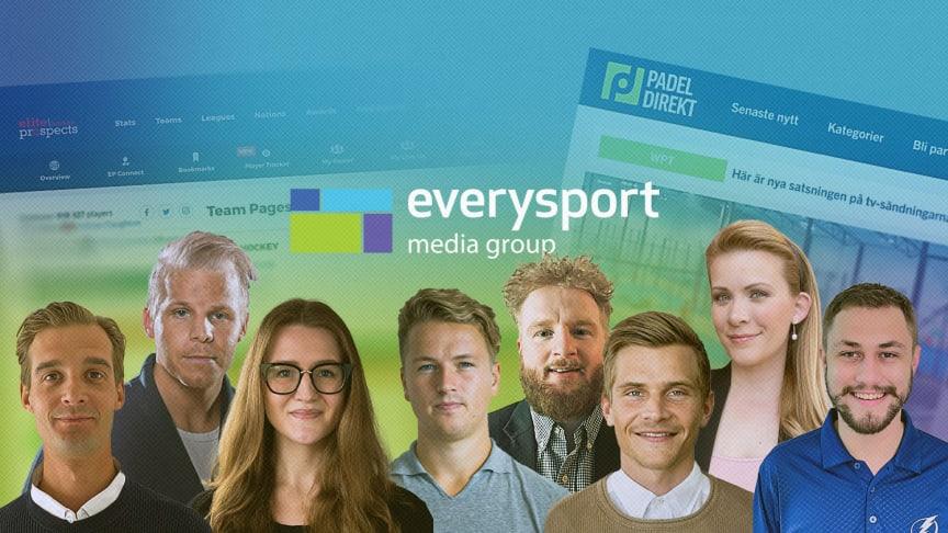 Nyckelrekryteringar till Everysport Media Group
