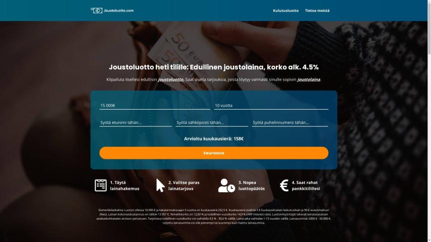 Joustoluotto.com