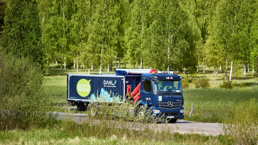 Vvs-grossisten Dahl satsar på biogas och el – ett första steg för ett fossilfritt Sverige
