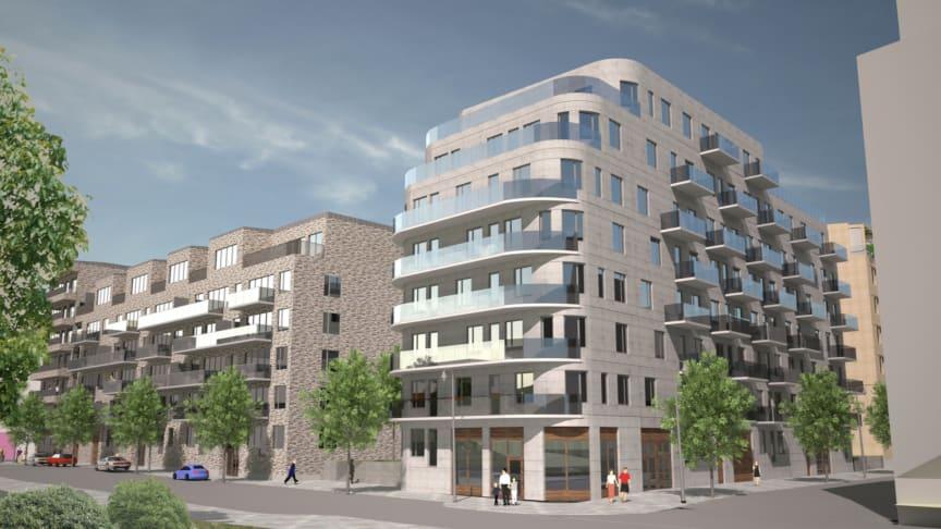 Riksbyggen uppför 160 bostadsrätter i Västra Ursvik