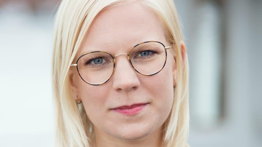 Karin Ernlund (C), arbetsmarknadsborgarråd i Stockholms stad.