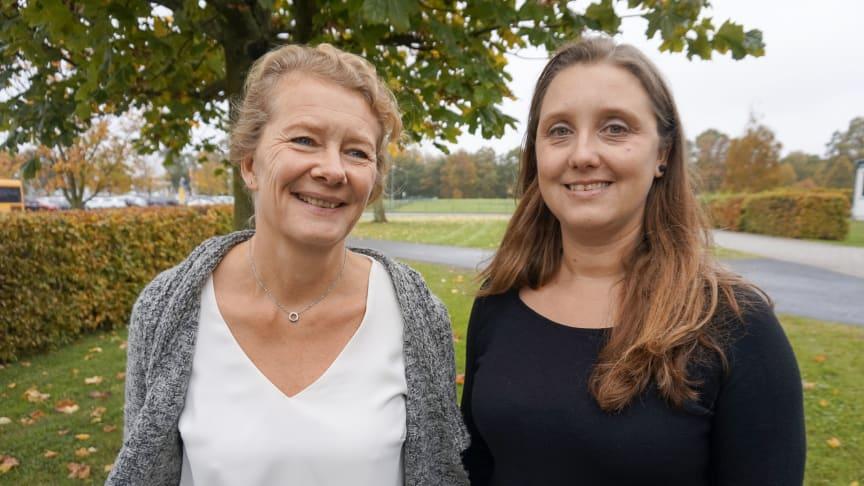 Monica Svensson och Ulrika Palmgren, som skrivit varsin masteruppsats om mellanchefernas roll, har bollat idéer och kommit fram till att de olika aspekterna faktiskt hänger ihop.