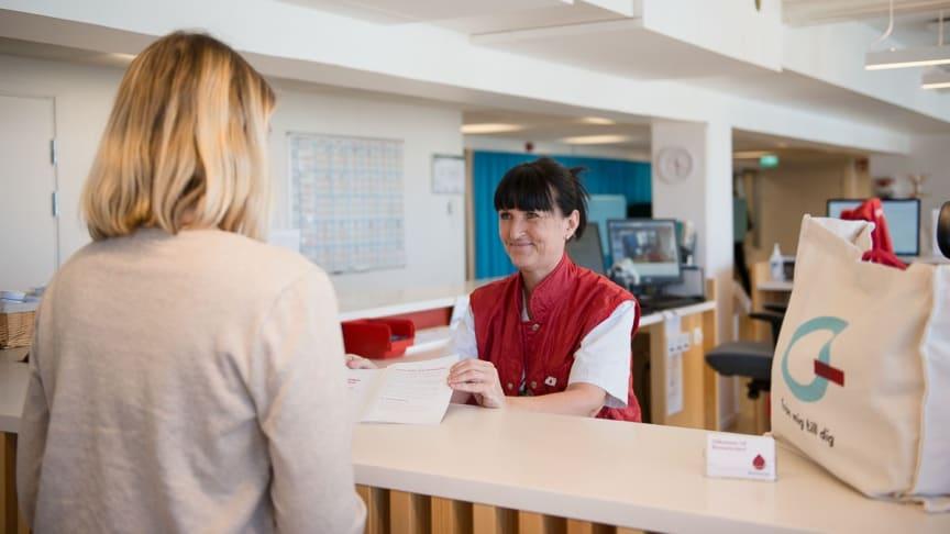Storföretag i nationell satsning på fler blodgivare
