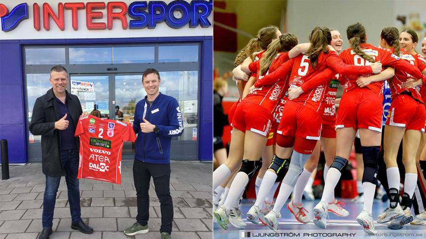 """Skövde HF i nytt samarbete med Intersport: """"Kan gynna hela handbollen som sport på sikt"""""""