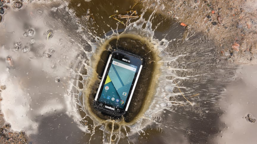 Handheld launches the NAUTIZ X9 outdoor-rugged Android PDA, - built for fieldwork in the most challenging outdoor or industrial environments.