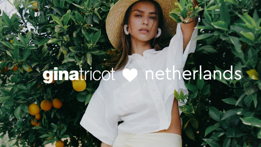 Taking the next step into the future, Gina Tricot steps up its digital market efforts and enters an exciting expansion phase by introducing a country-specific e-commerce website in the Netherlands.