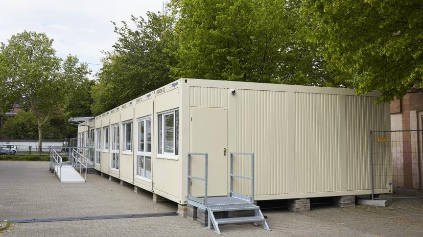 Fieberambulanzen aus Containermodulen sind schnell errichtet und entlasten das Gesundheitssystem.