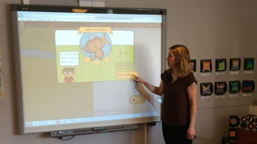 Marie Horn, lärare och IKT-pedagog i Kalmar kommun