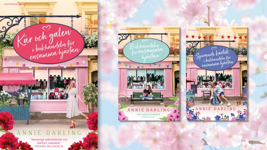 Väck vårkänslorna med ny romantisk feelgoodkaramell om bokhandeln i Bloomsbury