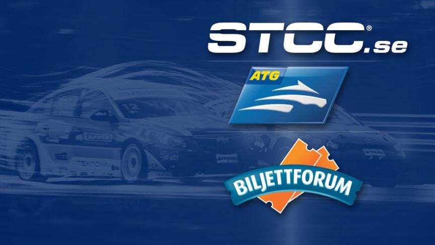 Biljettsläpp för STCC 2012 i samarbete med ATG och Biljettforum
