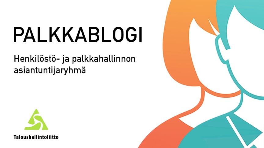 Palkkablogi: Palkkapalvelun prosessien kehittäminen