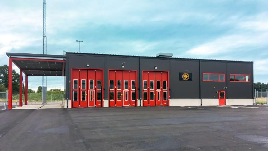 Sösdalas nya brandstation. Fotograf: Magnus Karlsson