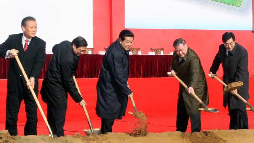 Hyundai Breaks Ground for Third Plant in China