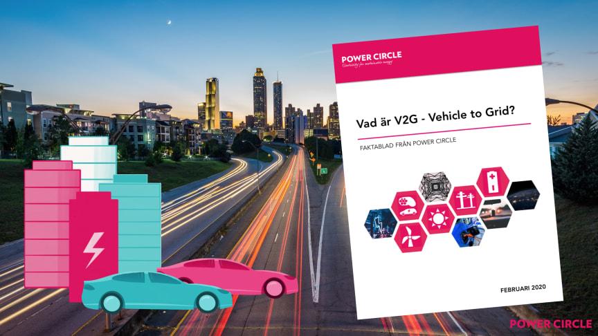 Nytt faktablad: Vad är vehicle to grid?