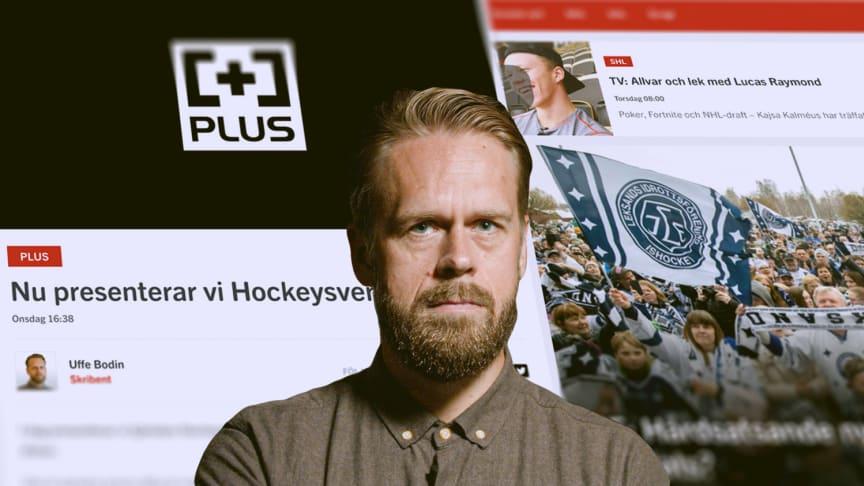 Nytt trafikrekord på Hockeysverige.se, samma vecka som sajten lanserade sin plustjänst