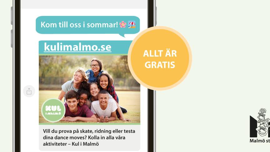 En rolig sommar med Kul i Malmö