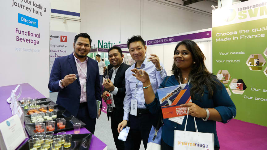 Vistors to the Vitafoods Asia 2018 Tasting Centre voted for their preferred functional food and beverage items.