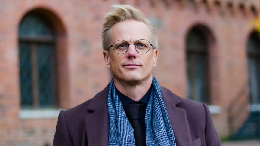 Fredrik Alvén har studerat uppfattningar om jämställdhetsfrågor i skolans undervisning. Bild: Elias Alvén