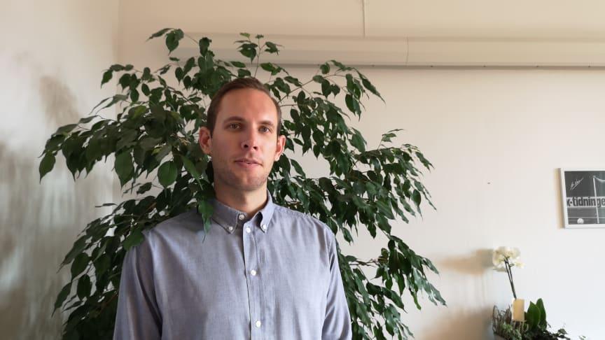 David, vår nya affärsutvecklare och säljare