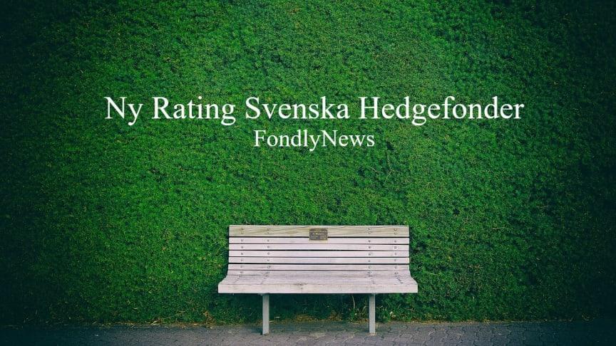 Rating av Svenska Hedgefonder i april!