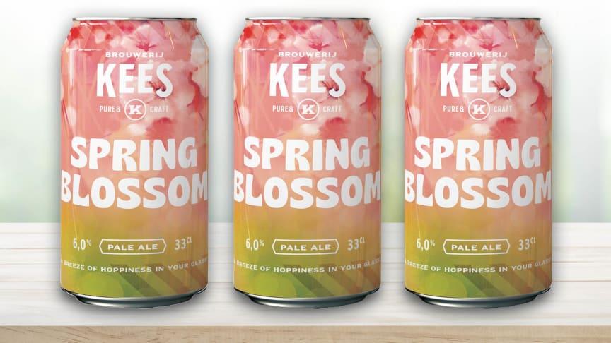 Kees Spring Blossom - blommigt öl med inslag av humle, citrus och karamell och liten bitterhet. Passar bra till vårens och sommarens grillbuffé.