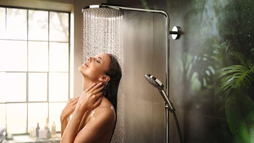 hansgrohe bjuder in till avkoppling i badrummet med ny duschstråle.