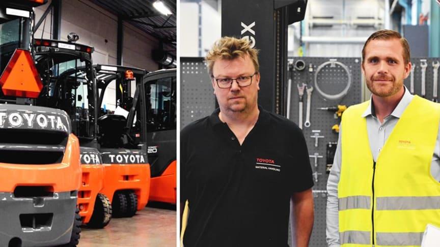 Øget effektivitet hos FMC siden Toyota introducerede CEJNs WEO i deres gaffeltrucks
