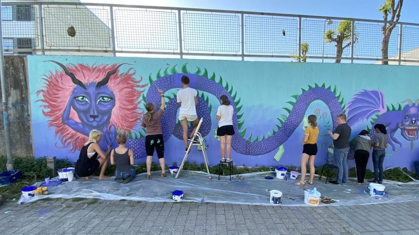 ART WALK med Hjemme i Kunsten