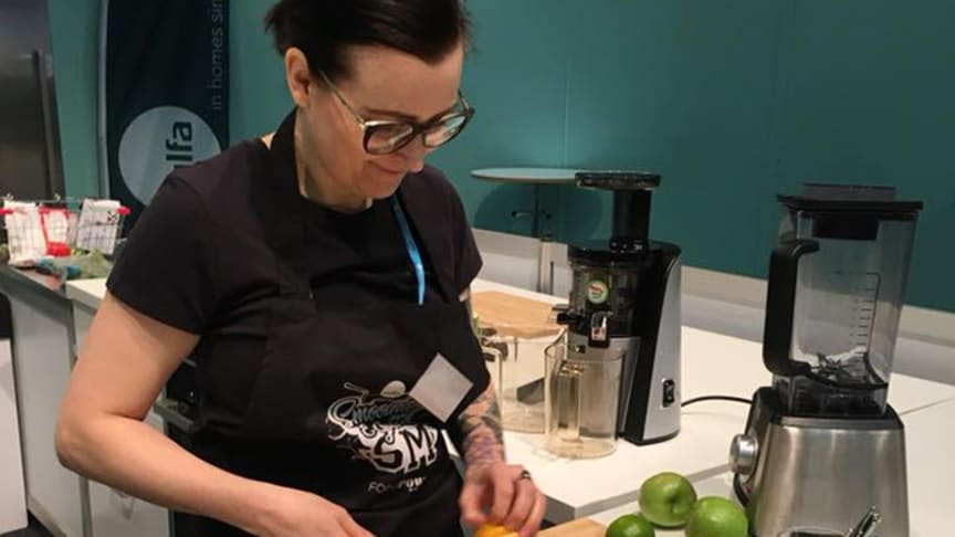 Verena Kemena på GastroNord tävlingen