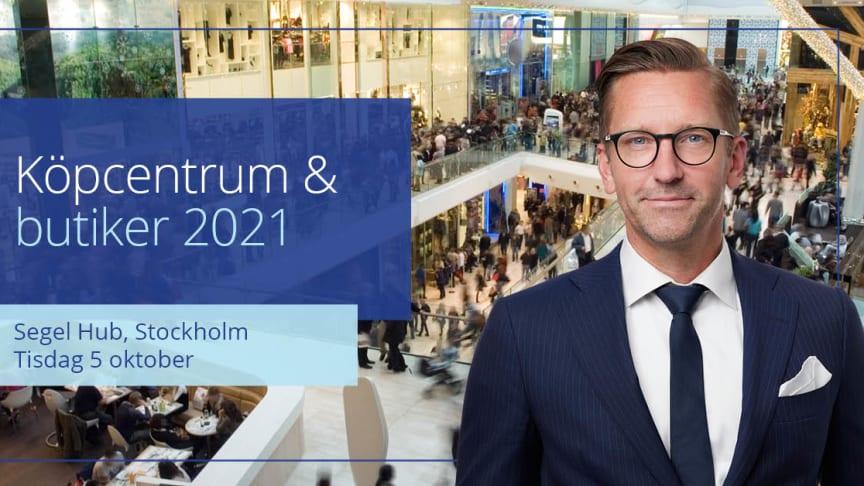 Martin Lindgren deltar som expertkommentator på Köpcentrum & butiker.