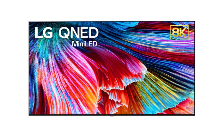 LG presenterar företagets första QNED Mini LED-tv på virtuella CES 2021