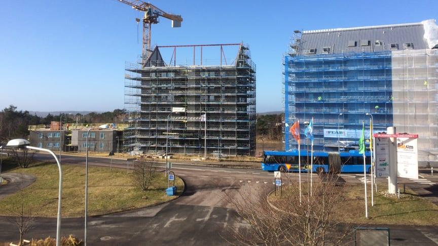 Peab bygger 132 lägenheter för Robert Dicksons stiftelse på Nya Kryddhyllan i Gårdsten.