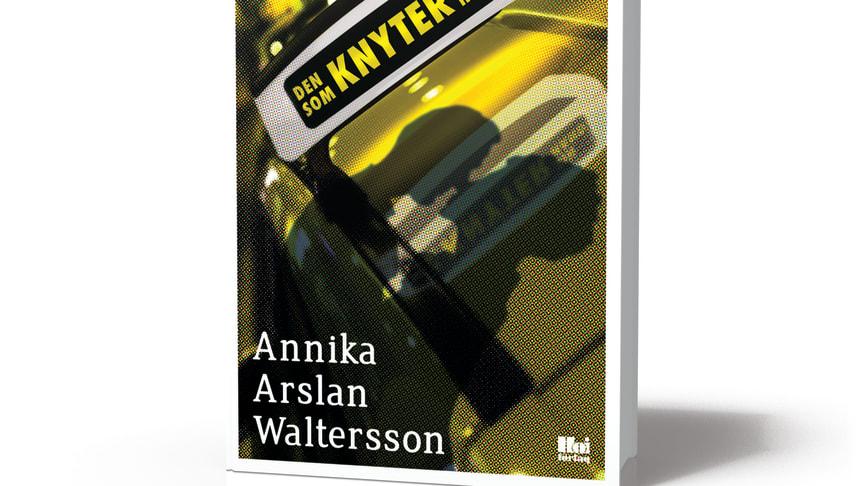 Samhällsfiktion som blandar allvar och humor när Annika Arslan Waltersson debuterar med Den som knyter sin hand
