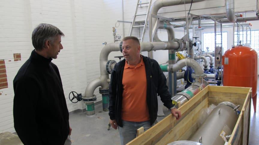 Dåligt tryck i kranen när vattenverket i Kvidinge renoveras
