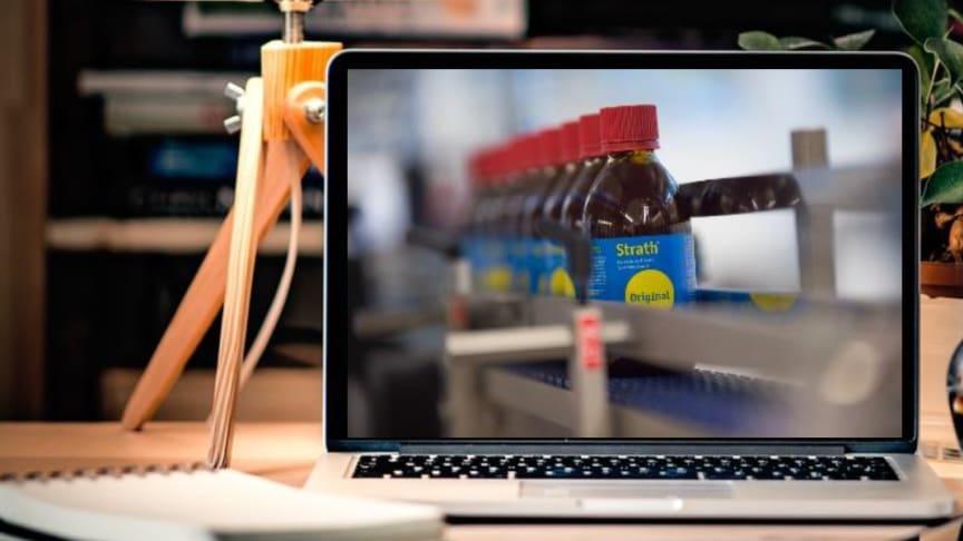 Kom med bag kulisserne hos Bio-Strath AG: Virtuelt fabriksbesøg 2021