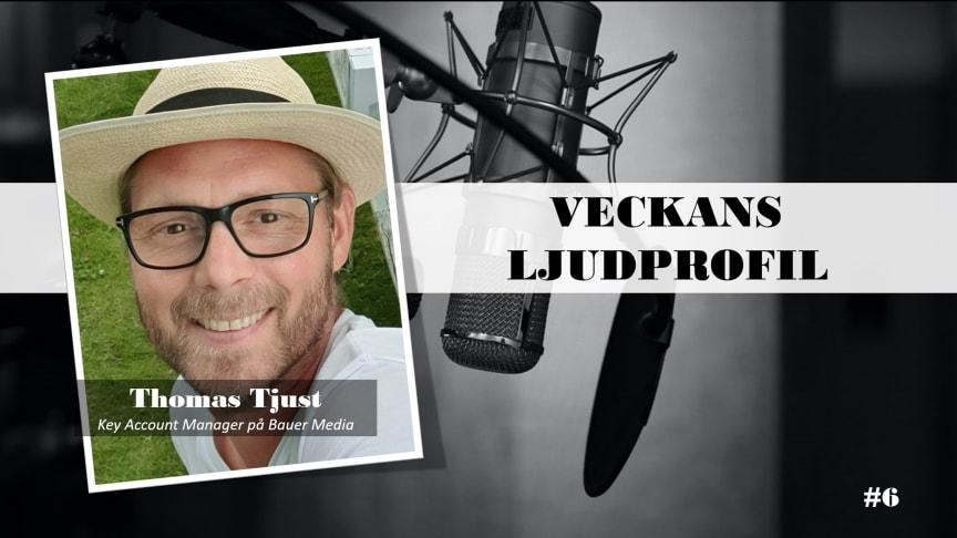 Veckans ljudprofil - Thomas Tjust