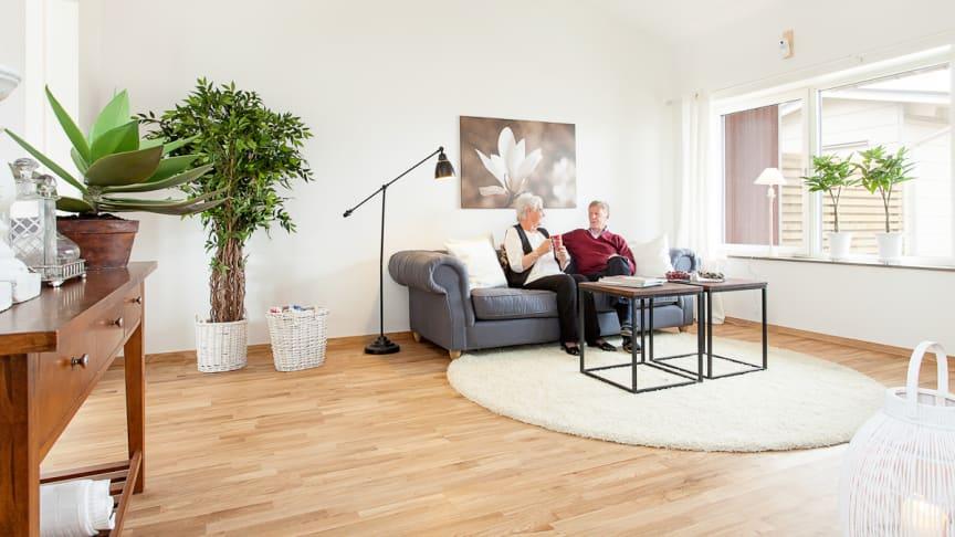 Nu säljer vi visningshuset! Brf Ängås (55+) i Västra Frölunda
