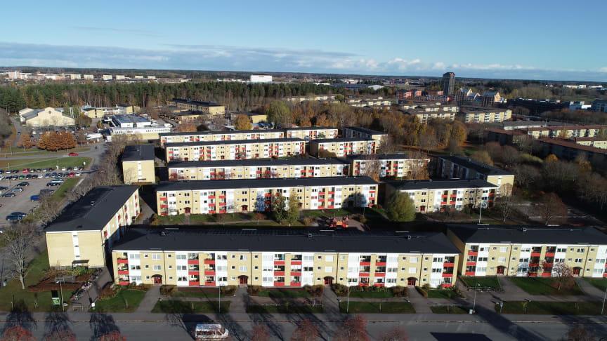 Riksbyggen stamrenoverar 303 lägenheter åt Brf Uppsalahus nr 14