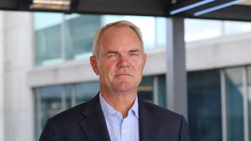 Leder for Storebrand Eiendom, Truls Nergaard. Foto: Storebrand