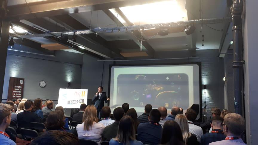 SMASH London celebrates the capital's Sport Tech ecosystem
