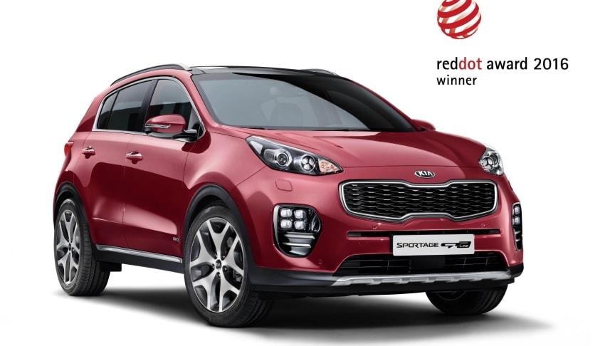 Red Dot designpris till nya Kia Sportage och nya Optima – igen!