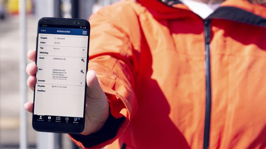 Infobric Group, ett av Nordens ledande SaaS-bolag inom tjänster för socialt hållbara och resurseffektiva arbetsplatser, förvärvar AddMobile.
