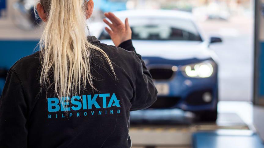 Den 22 januari öppnar Besikta Bilprovnings i nya lokaler i Visby