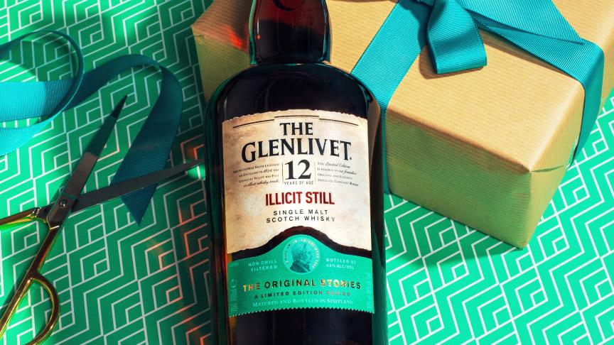 Første utgave av en serie single malt whiskyer som forteller historien om The Glenlivet Distillery