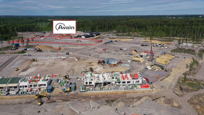 Avain Yhtiöt toteuttaa Puustellinmetsän keskeisen torialueeseen rajautuvan asuinkorttelin.