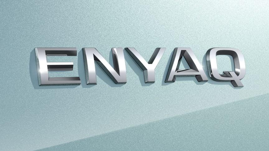 ŠKODAs elektriske SUV hedder ENYAQ